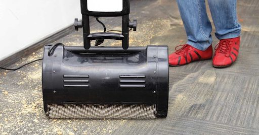 Absorbent Compound Carpet cleaning