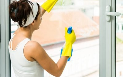 How to clean windows without streaks!